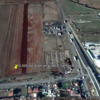 Vindem 20.000 mp teren intravilan Arad,soseaua 6 Vanatori