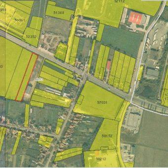 Spre vânzare un teren industrial în zona Borș